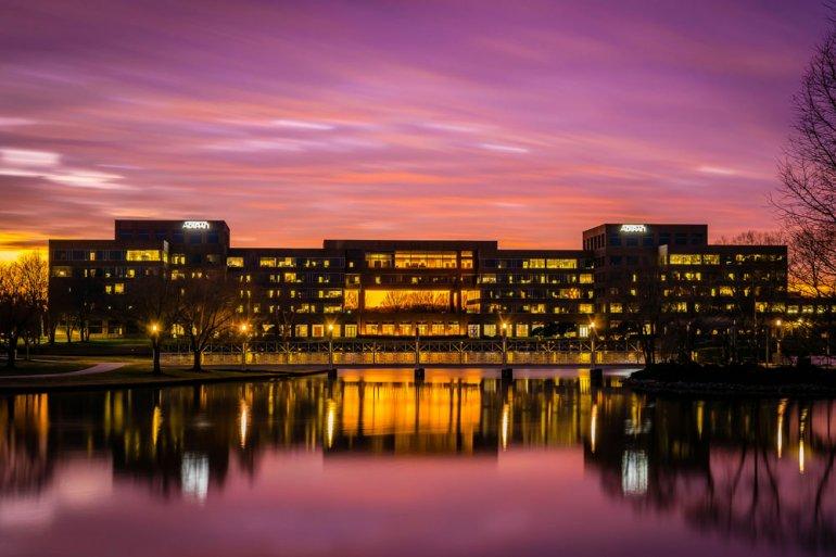 Nikon D3300 sunset photo