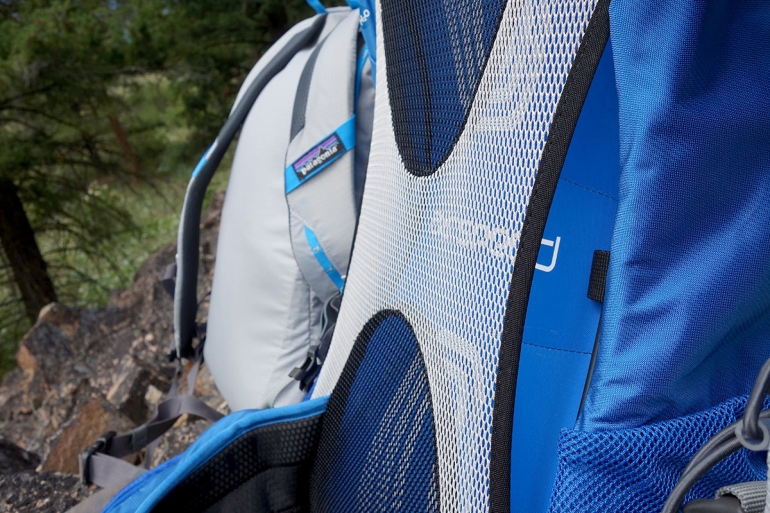 Osprey Stratos backpanel