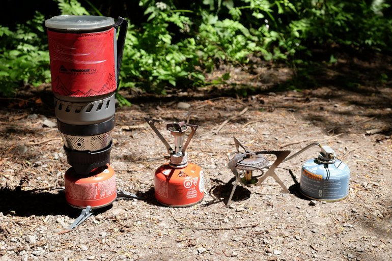Stoves for backpacking