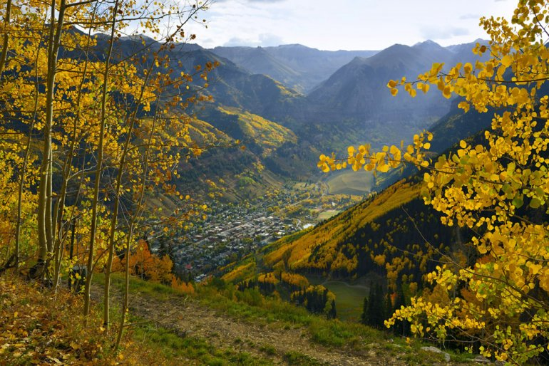 Fall in Telluride Colorado