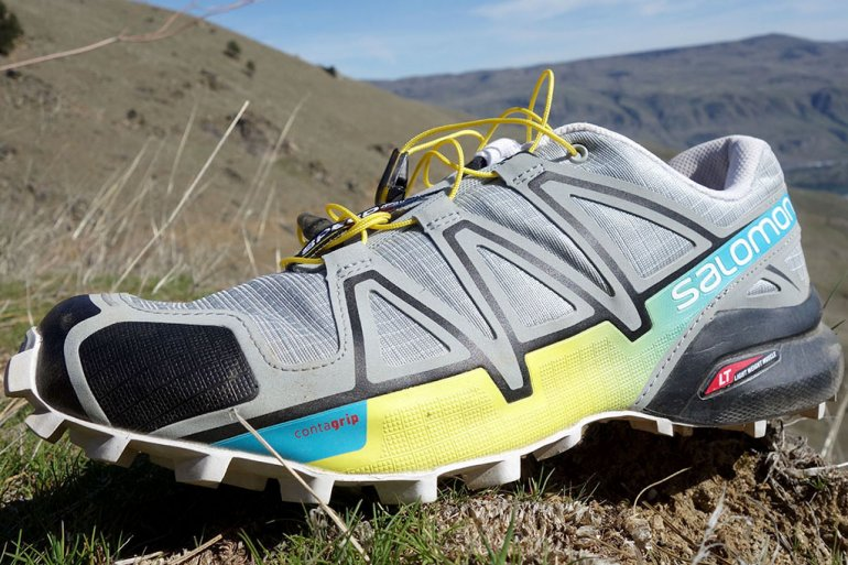 Trail-running shoe breathability