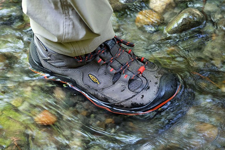 Waterproof hiking boot