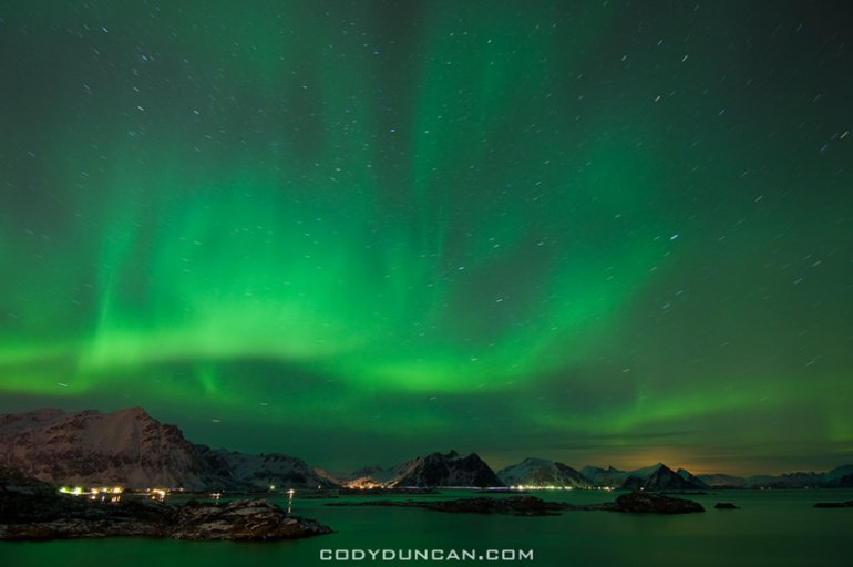 Northern Lights - Lofoten Islands