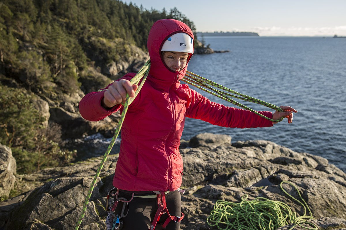 Black Diamond First Light Hoody (climbing rope)