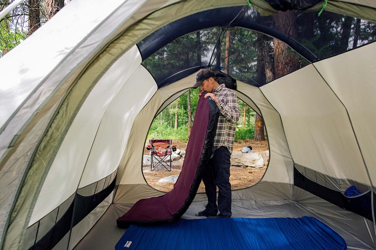 The spacious interiors of c&ing tents make it easy to fit extra large pads or an airbed & Best Camping Mattresses and Pads of 2018 | Switchback Travel