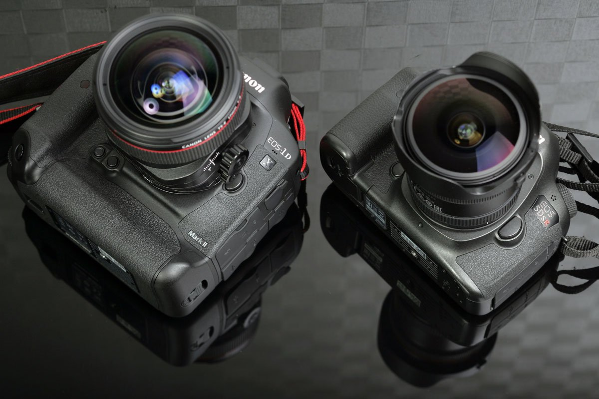 Canon 1DX II and 5DS R