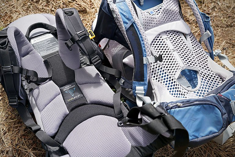 Child Carrier Pack (suspension systems)