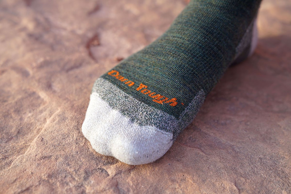 Darn Tough hiking socks (toe)