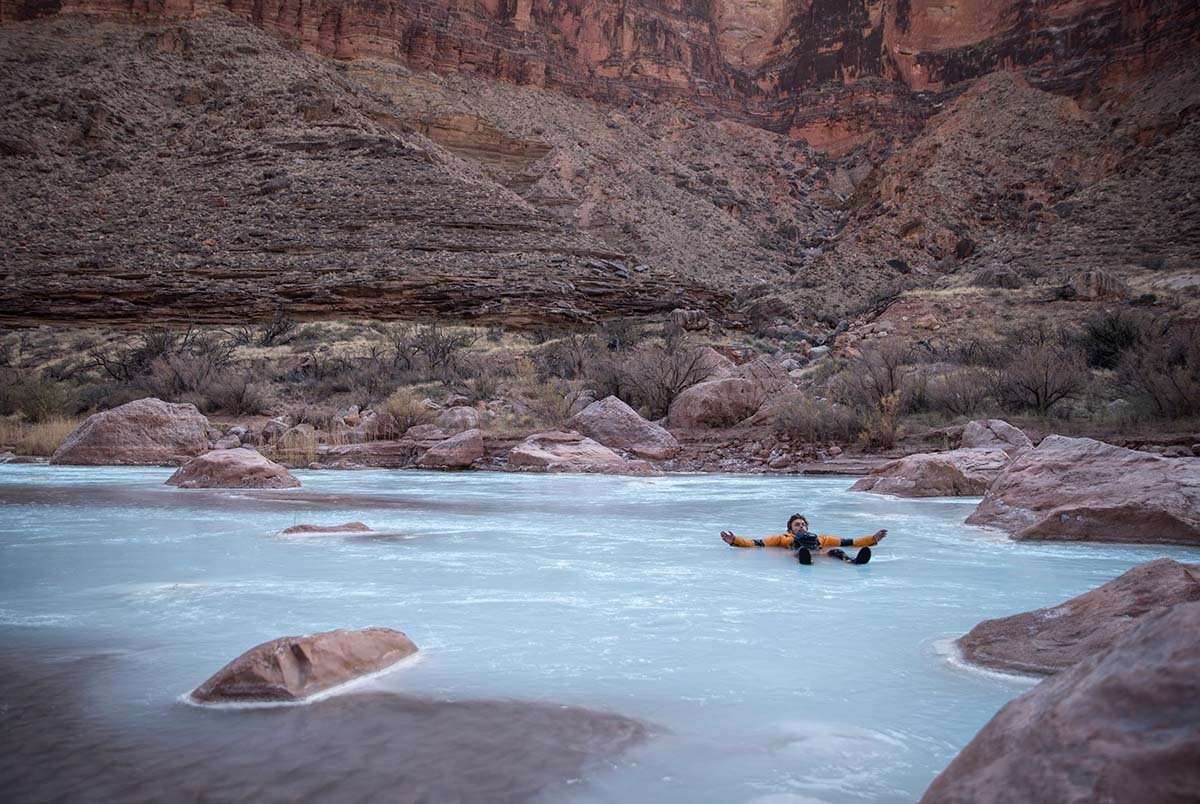 Grand Canyon rafting (floating)