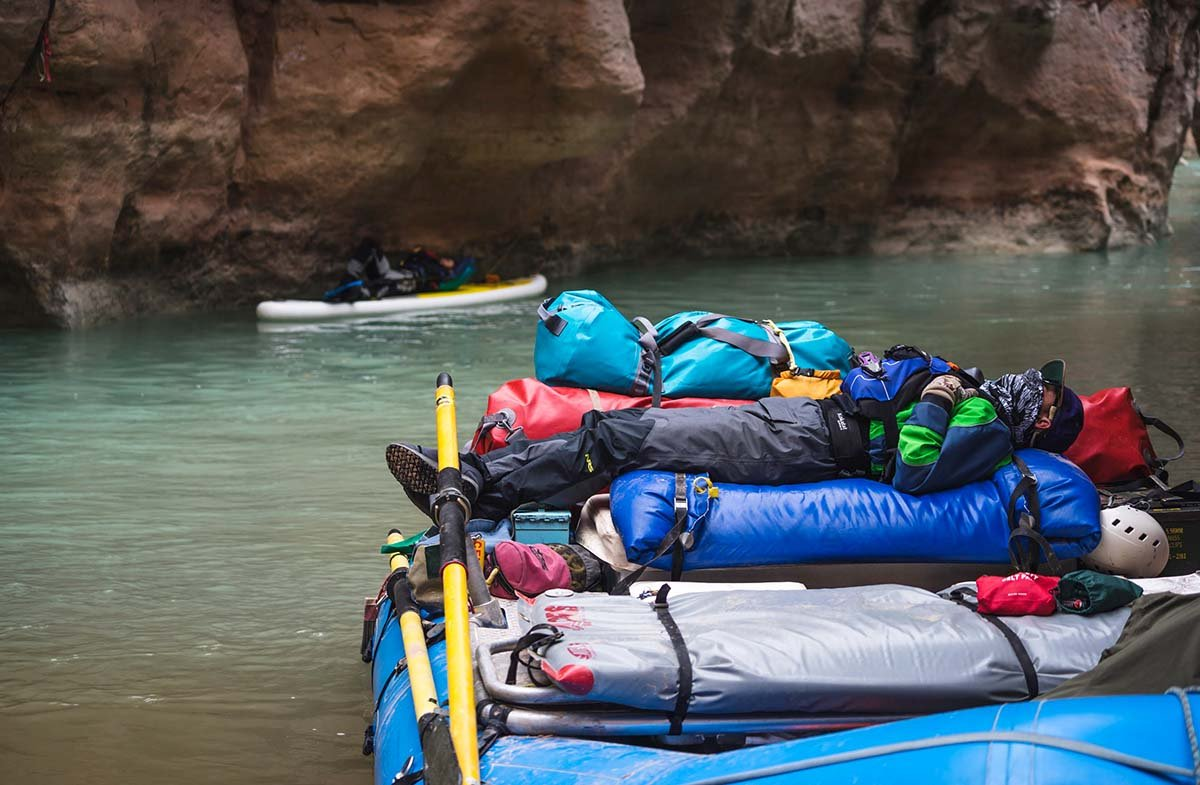Grand Canyon rafting (gear)