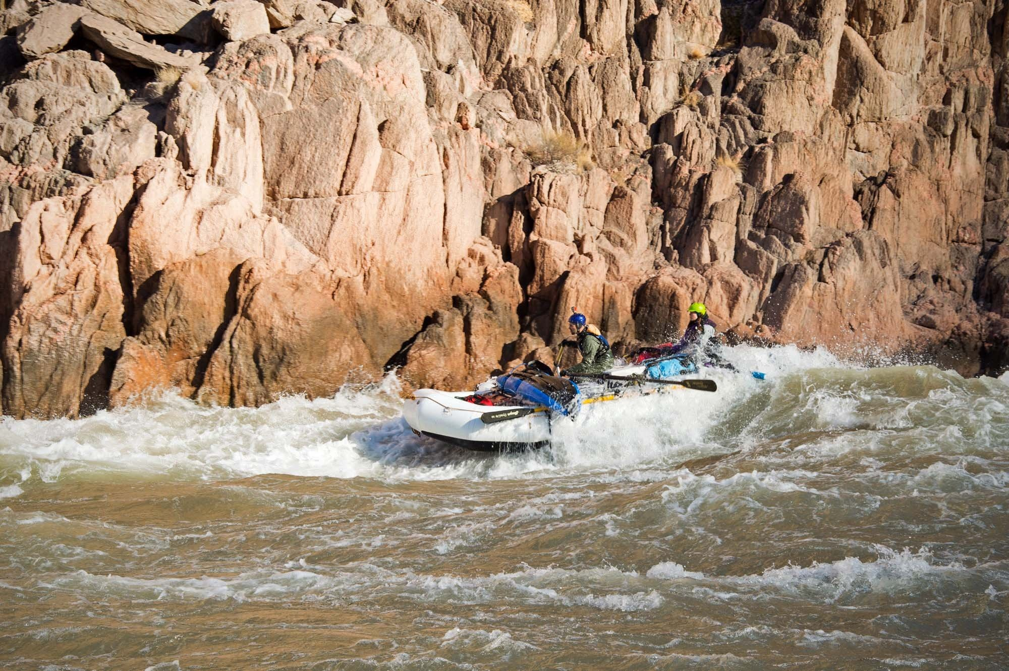 Grand Canyon rafting (rapids 2)