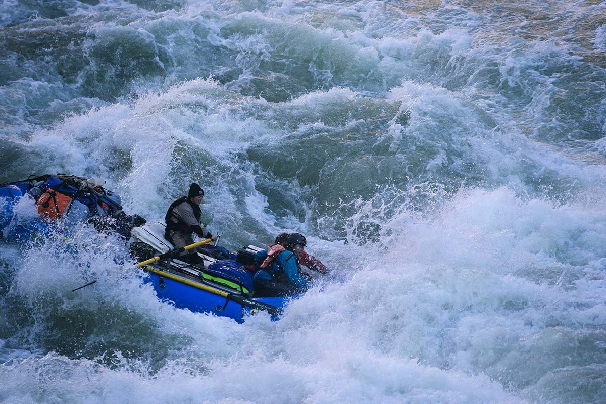 Grand Canyon rafting (rapids)