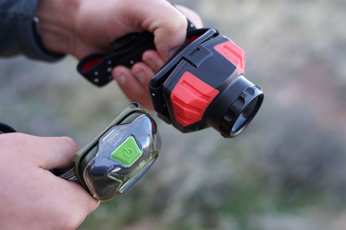Headlamps (power buttons)