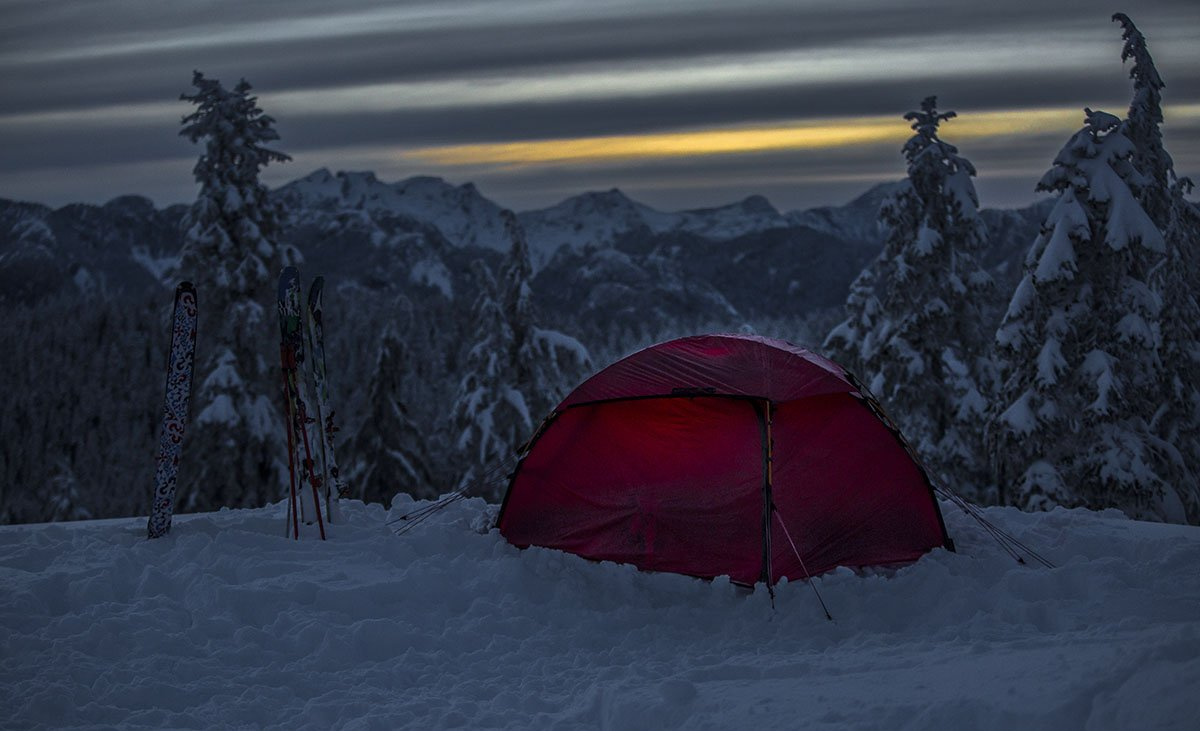 Hilleberg Allak (night c&) & Review: Hilleberg Allak | Switchback Travel