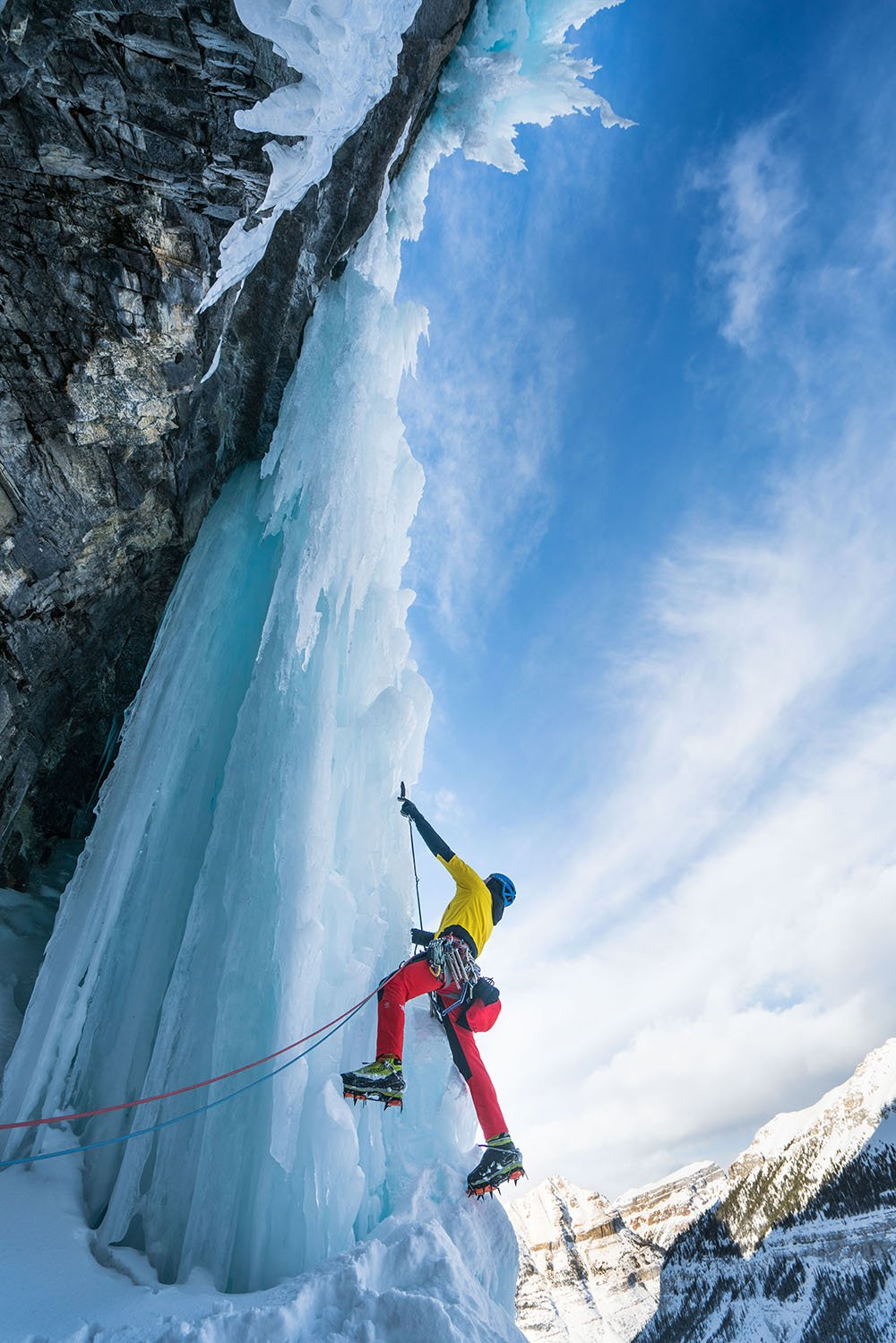 Ice Climbing Canadian Rockies (Lowa)