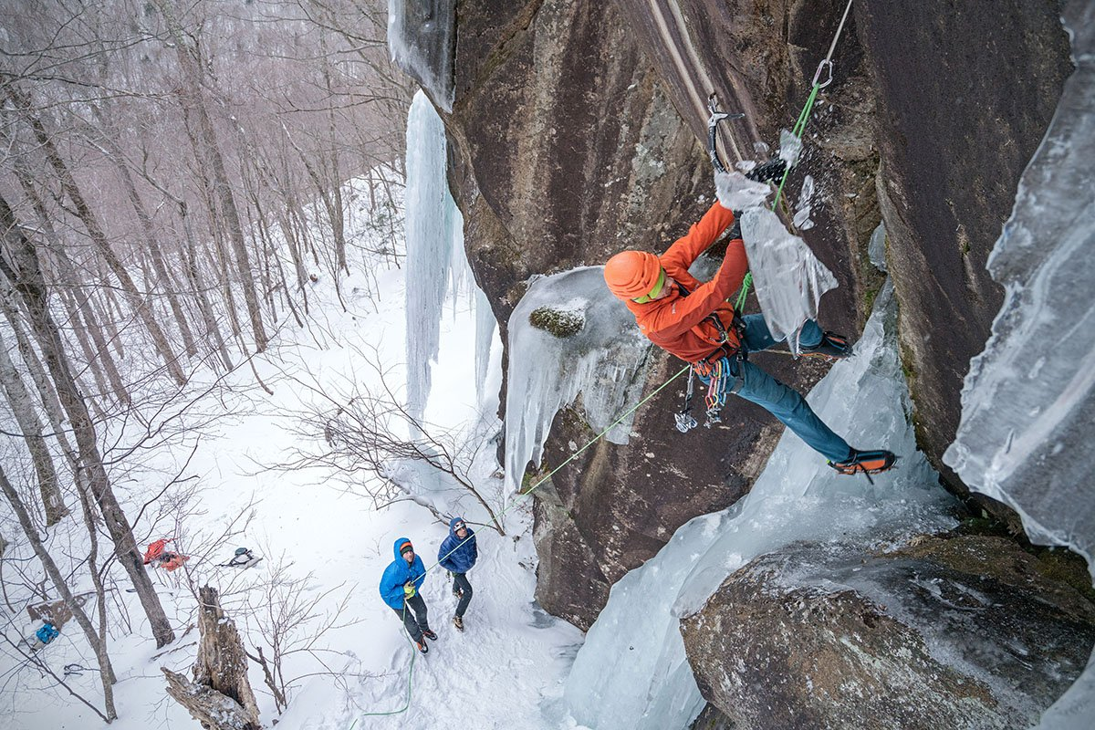 Ice climbing (Scarpa Phantom Tech)