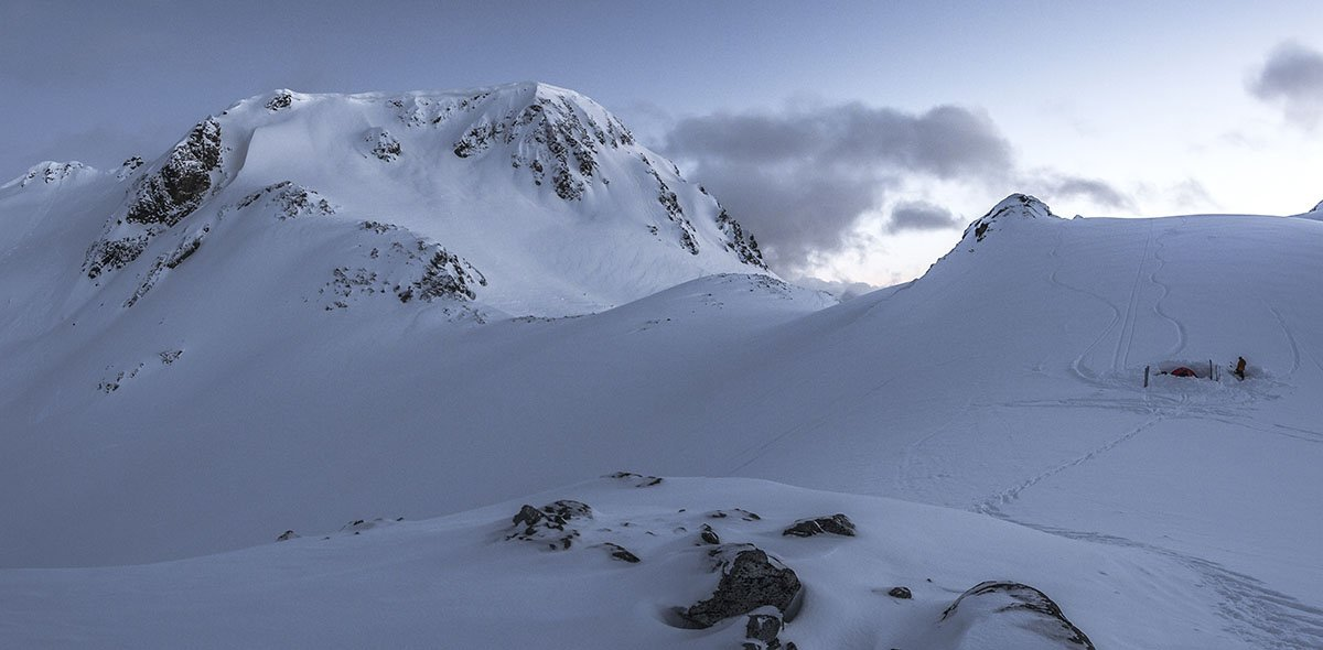 MSR Access 3 (mountaineering pano)