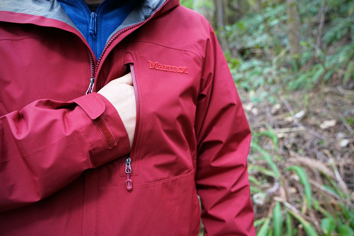 Marmot Miminalist (chest pocket)