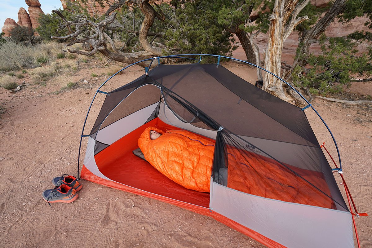 Review Patagonia 850 Down Sleeping Bag Switchback Travel