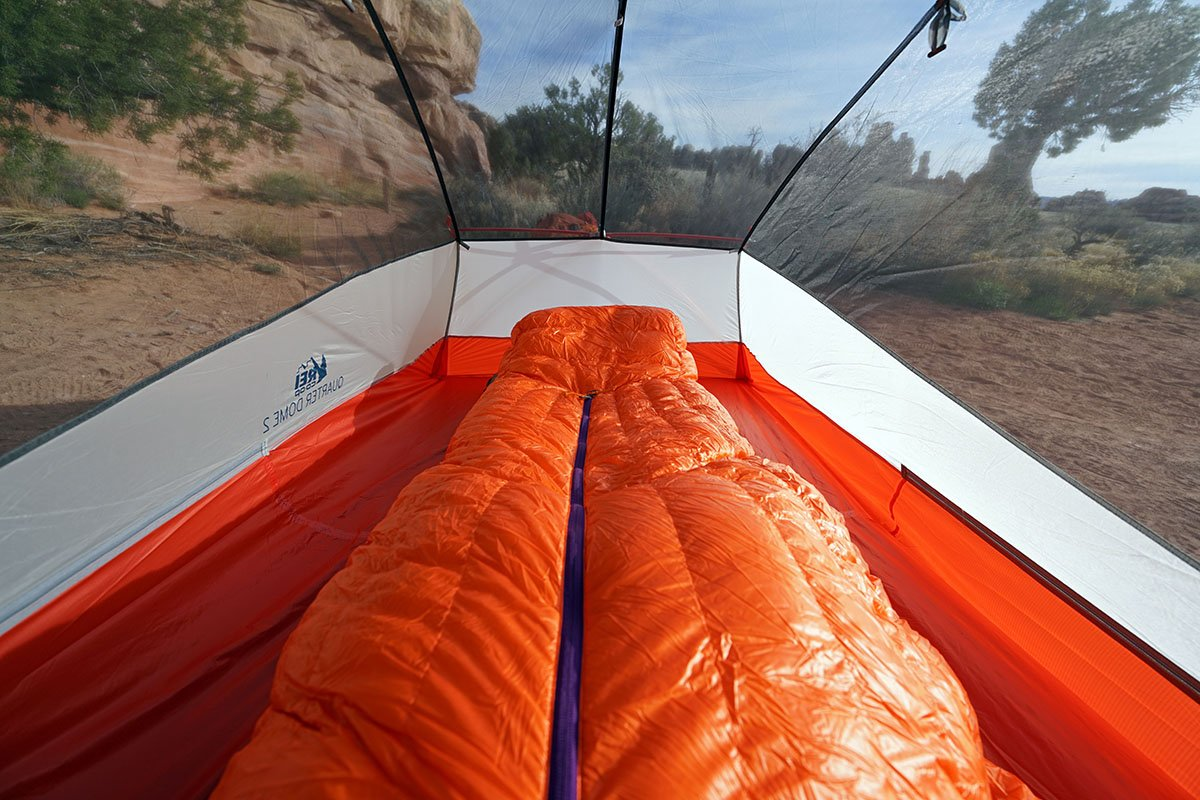 Patagonia 850 Down Sleeping Bag (center zipper)