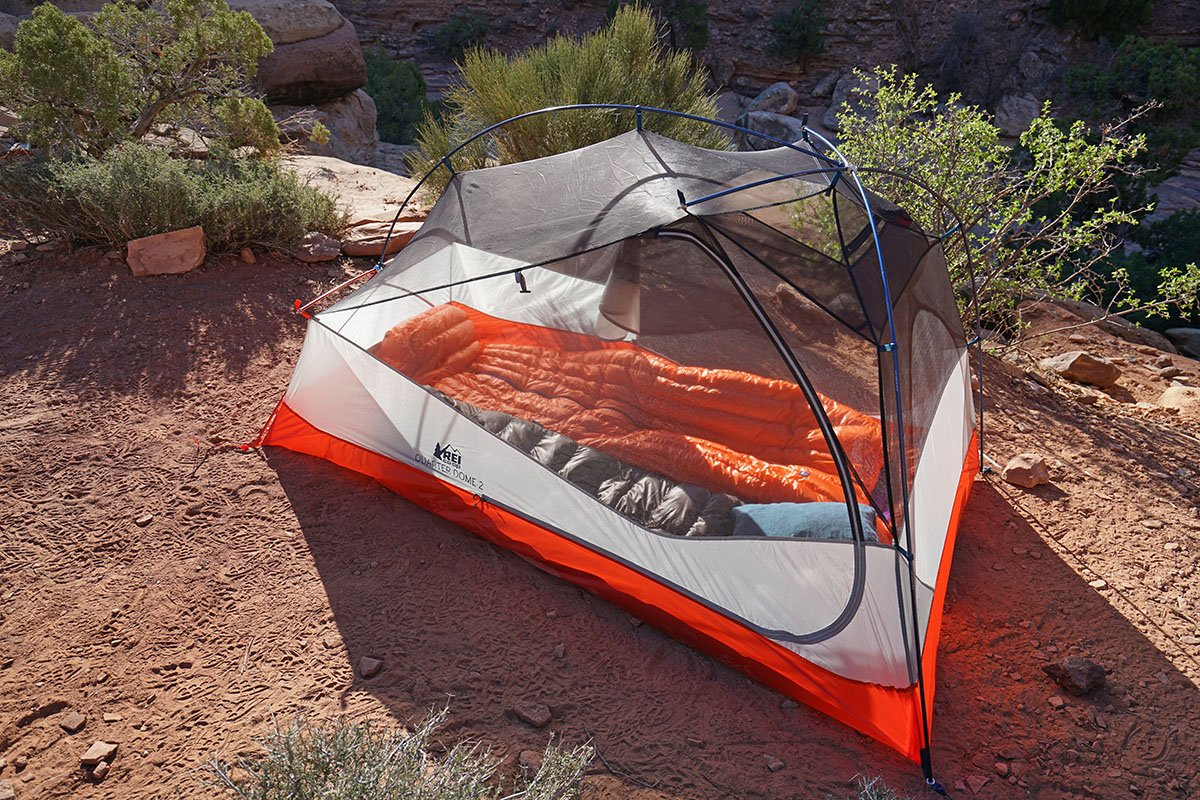 REI Quarter Dome (Elephant Canyon c&site) & Review: REI Co-op Quarter Dome 2 | Switchback Travel