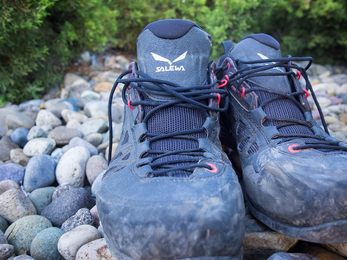 Salewa Firetail 3 GTX shoes (close-up)