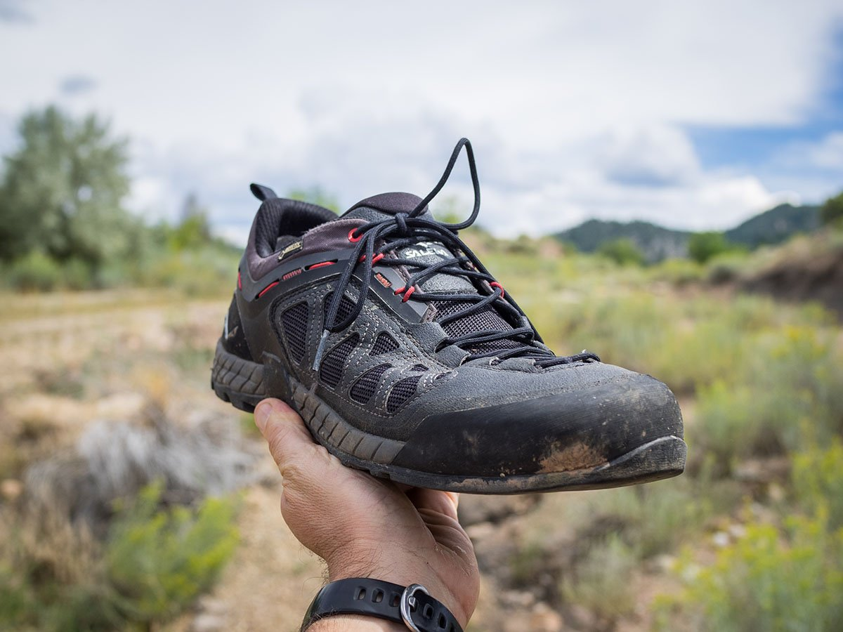 Salewa Firetail 3 GTX shoes (toe rand)