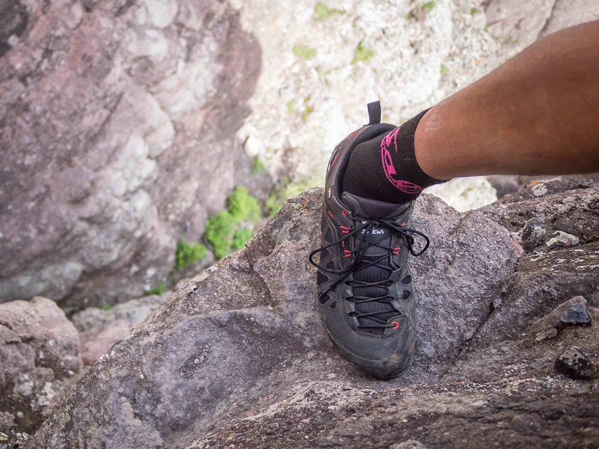 Salewa Firetail 3 shoes (via ferrata)