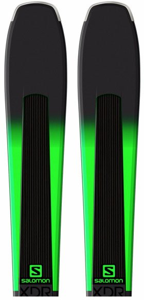 Salomon XDR 78 skis (2017-2018)
