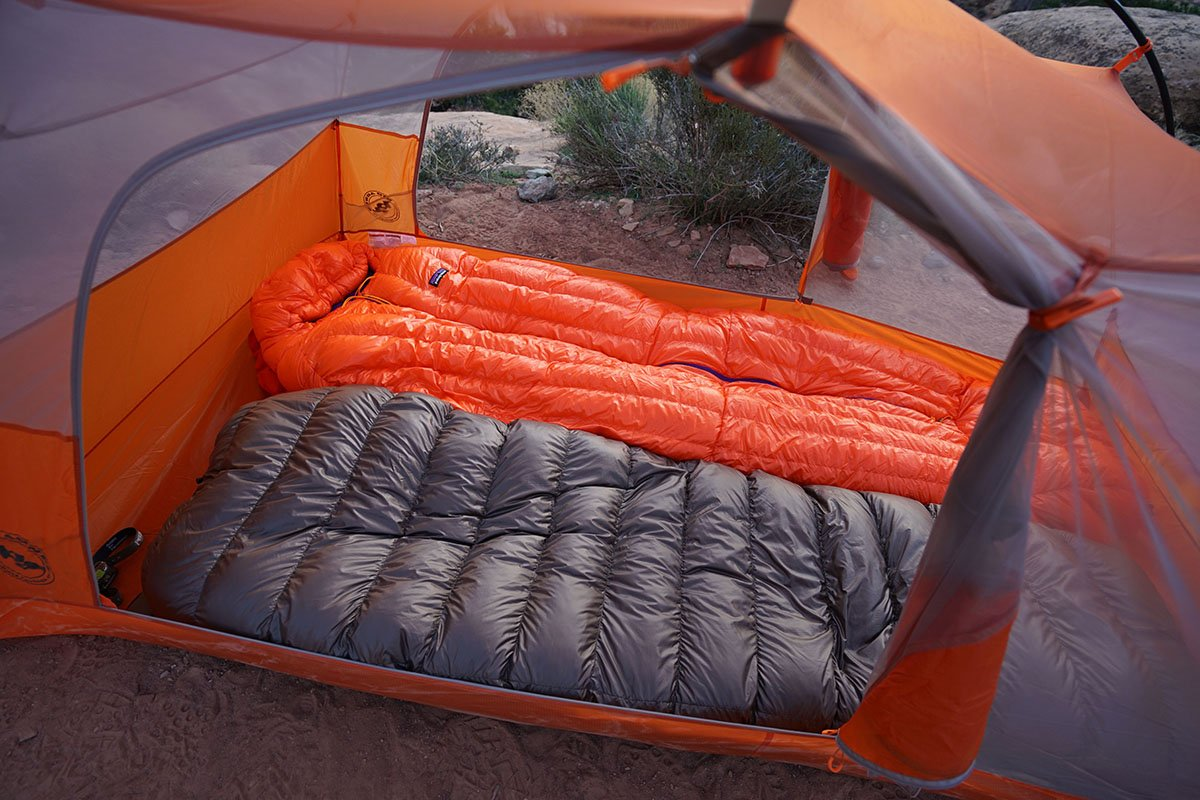 hiking cct quilts dawn backpacking canyon life review sleeping pre palisade mexico gear the copper quilt katabatic traverse start