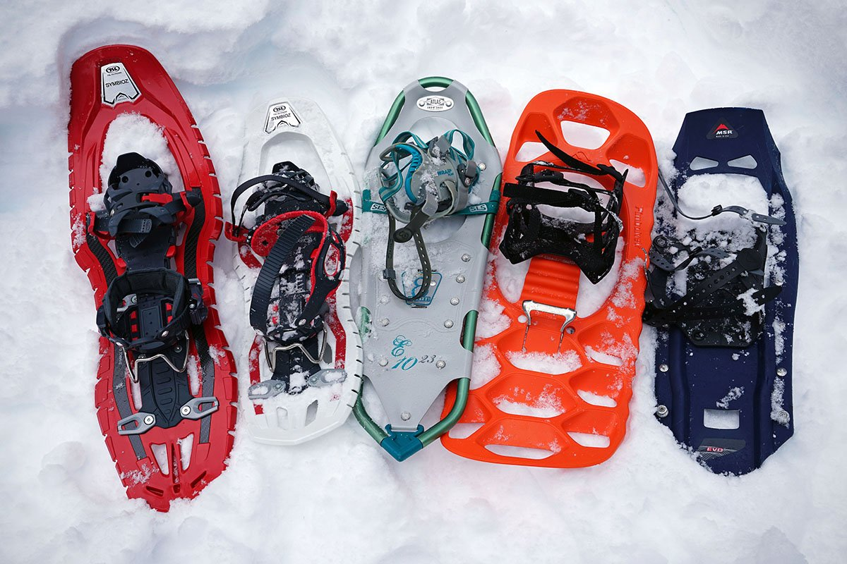 Snowshoe deck types