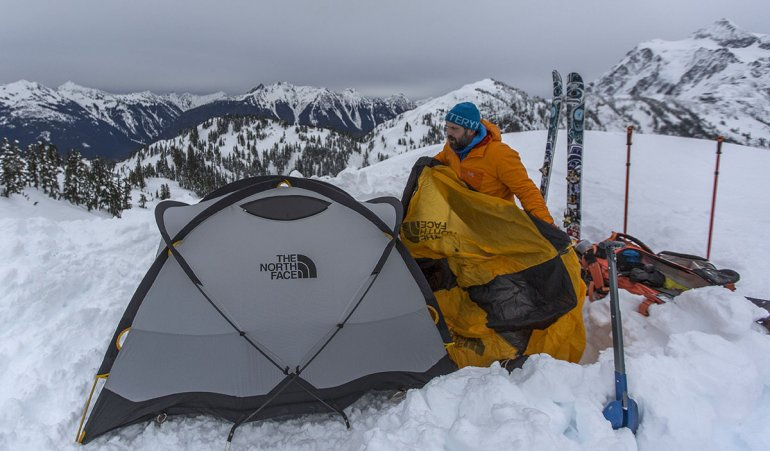 The North Face Mountain 25 is a bomber winter tent but too heavy for most backpacking trips & Best Backpacking Tents of 2018 | Switchback Travel