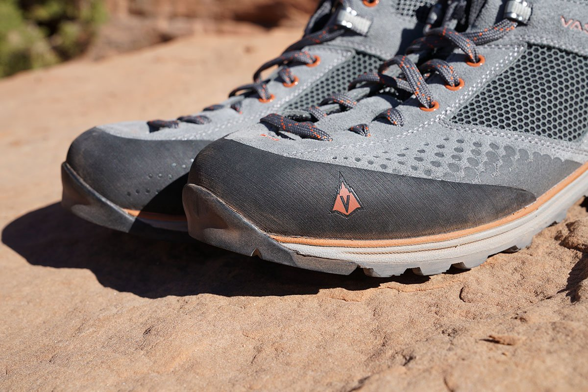 Vasque Grand Traverse approach shoes (rubber rand