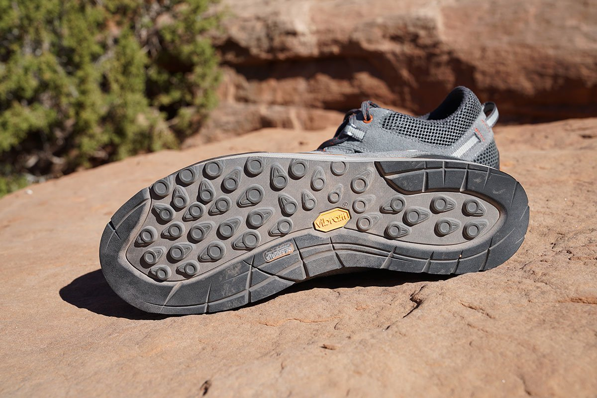 Vasque Grand Traverse approach shoes (tread)