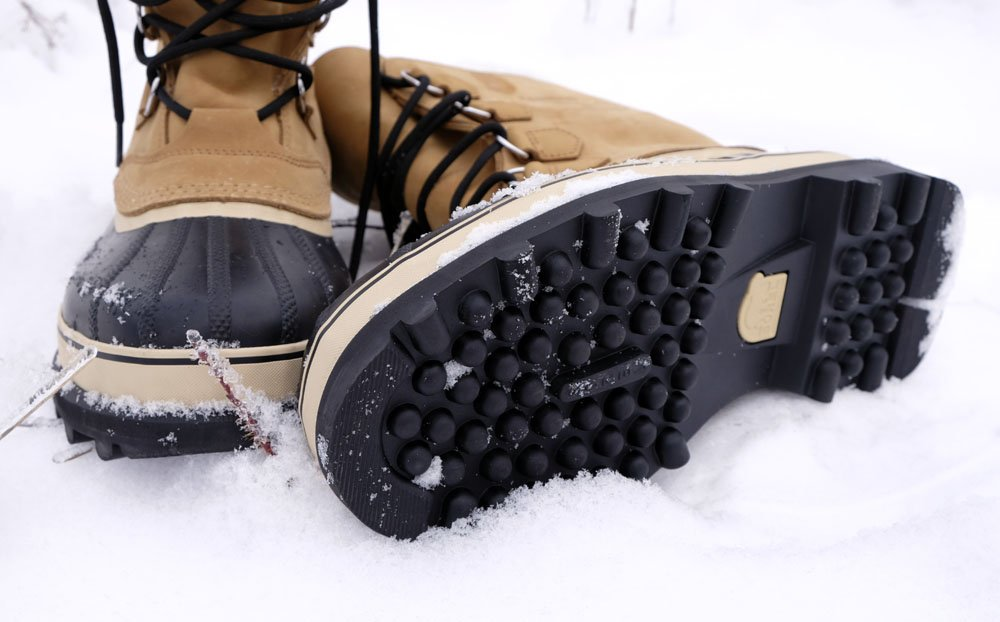 Winter boots traction
